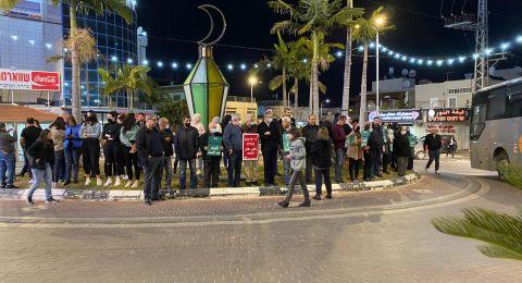 الطيرة تتظاهر في أعقاب مقتل منصور