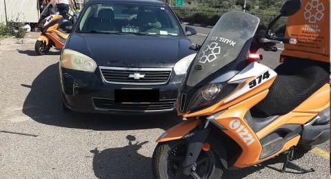 مفرق معليا: حادث طرق واصابة شاب بصورة خطرة