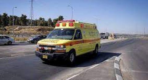 النقب: حادث طرق يسفر عن اصابة سيدة (50 عاما)