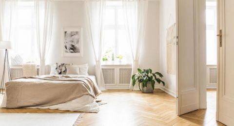ديكور غرف نوم باللون الكريمي