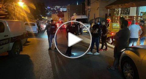 ملخص العنف الليلة الماضية، احراق محل تجاري وشجار عنيف في سخنين، واطلاق نار في شفاعمرو
