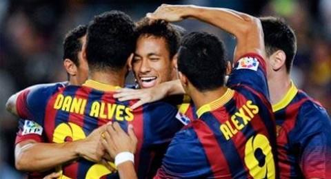 ألبا وبيكيه ونيمار في قائمة برشلونة ضد أتلتيكو مدريد