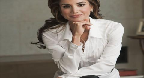 الملكة رانيا تشكر ماجدة، عاصي، راغب، نانسي واليسا