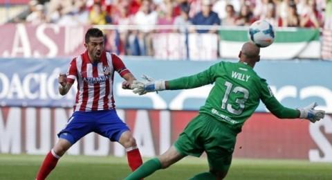 التعادل الايجابي يخيم على اتلتيكو مدريد وملقا