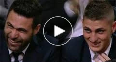ضحك هستيري من لاعبي سان جرمان للسخرية من فرنسية إبراهيموفيتش