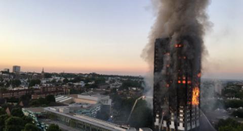 سبب كارثة احتراق برج لندن .. ثلاجة!
