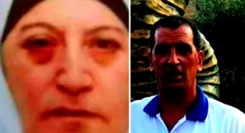 المشتبهان بقتل حسن وصبحية رميحي .. رجلان من ابطن (44، 70 عامًا)