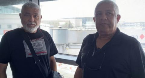 يافا: الحاجان علي ميناوي وعيسى أبو دية يغادران البلاد لإغاثة اللاجئين السوريين