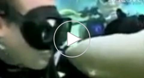 شاهدوا بالفيديو: القبلة التي انتهت بـ 258 قطبة