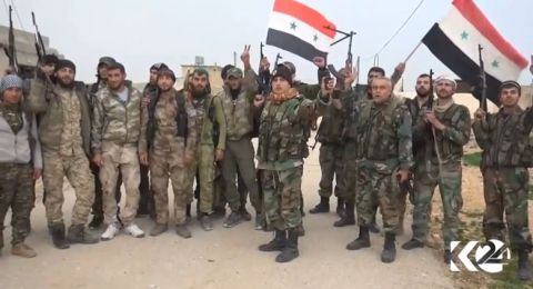 الجيش السوري يستعيد قريتين جديدتين في إدلب
