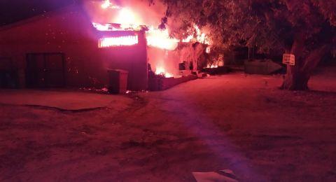 حريق في مبنى في المجلس الإقليمي سدوت نيقيف دون إصابات