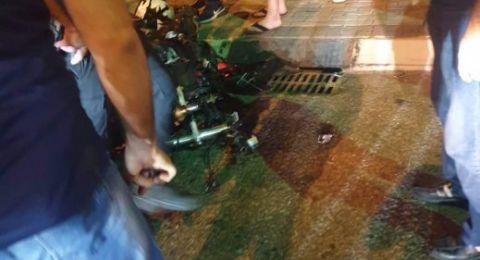 مصرع عمران غضبان متأثرًا بجراحه بعد تعرضه لحادث طرق