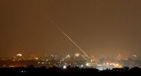 الجيش الاسرائيلي اعتراض 3 صواريخ أطلقت نحو مستوطنة