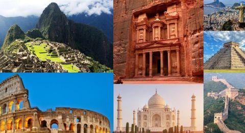 بينها بلد عربي.. تعرّفوا إلى عجائب الدنيا السبع الجديدة؟