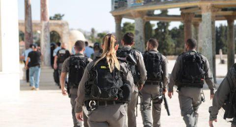 مباشر: مواجهات في المسجد الأقصى بين المصلين والشرطة الإسرائيلية