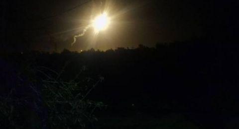 الجيش الاسرائيلي يشن غارات جوية على غزة