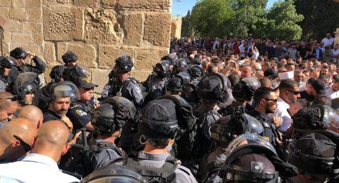 الاردن يستنكر تصريحات وزير الامن الاسرائيلي بشأن