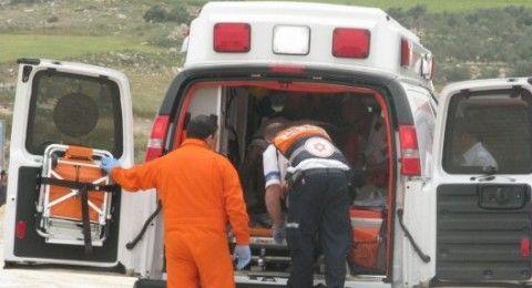 النقب: اصابة خطرة لشخص بحادث دراجة نارية