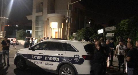 دير حنا: إطلاق نار ليلة أمس واعتقال مشتبه (42 عاماً)