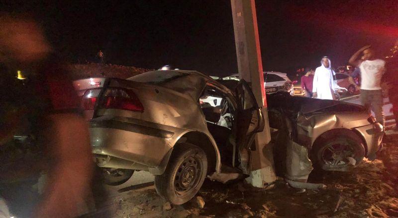 النقب: حادث طرق مروع ومصرع شابين من قرية الفرعة