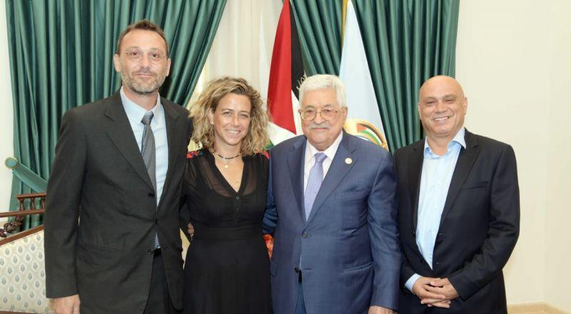 النائب عيساوي فريج يؤكد في لقائه مع الرئيس ابو مازن: هناك شريك حقيقي في المفاوضات السياسية