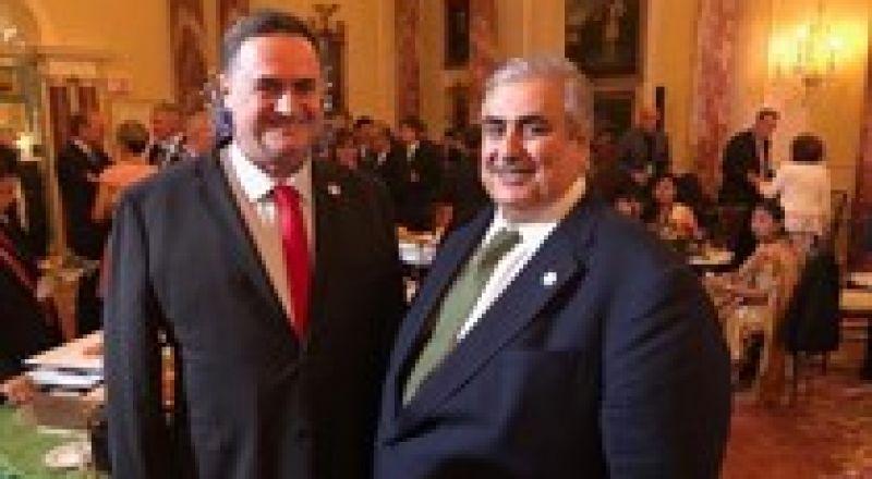 وزير خارجية إسرائيل يهنئ نظيره البحريني بالعيد