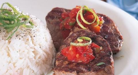 مطبخ بكرا يقدم لكم شرائح اللحم المخللة صحة وهنا