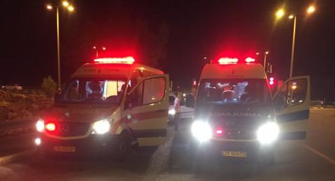 مجدالكروم: اصابتان في حادث طرق