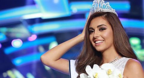 فاليري أبو شقرا ملكة جمال لبنان للعام 2015