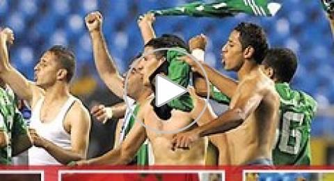 منتخب الجزائر فاز بكأس العالم..فهتف اللاعبون لشهداء فلسطين