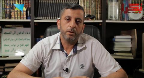 الشيح نضال قشوع: التزامنا يعيد فتح بيوت الله