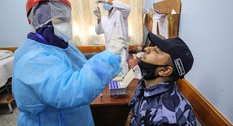 غزة: وفاة شاب ومسن و118 إصابة جديدة بكورونا