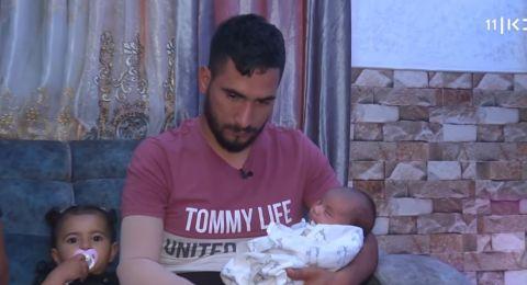 نهى ابو صيام، انتظرت مولودها باليوم.. وعمها لـ
