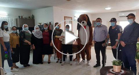 مجلس يانوح جث ورئيسه مودي سعد ينظم فعالية لذوي الاحتياجات الخاصة
