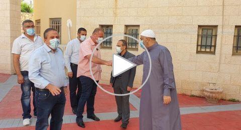 جامزو وسيف في كفر قاسم .. وثناء على نشاط دار الافتاء