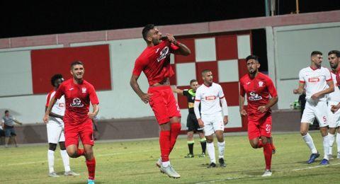 الاتحاد السخنيني يحقق فوزه البيتي الاول هذا الموسم على استاد الدوحة (4-3)