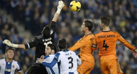 ريال مدريد يهزم اسبانيول ويقترب من الصدارة