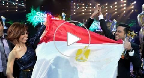 إليسا ووائل كفوري يتوّجان محمود من مصر نجم الموسم التاسع من ستار أكاديمي