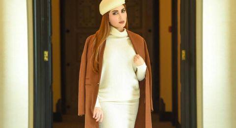 المعطف الطويل أناقة على طريقة النجمات العربيات