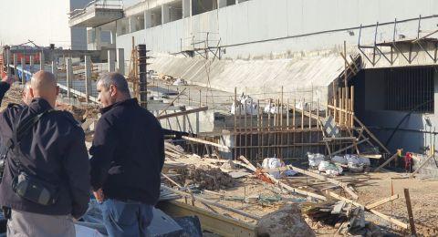 موديعين: سقوط عامل بناء وحالته خطرة