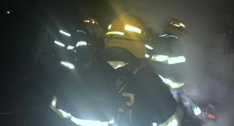 مصرع شخص جراء حريق اندلع في كرفان في مستوطنة نوف