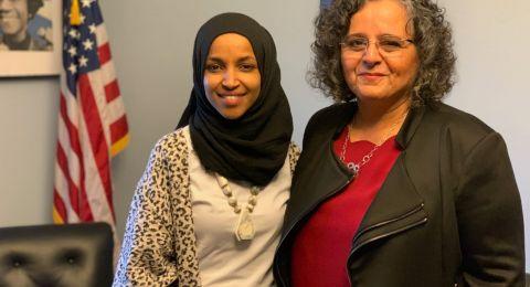 خلال جولتها في أمريكا: توما – سليمان تلتقي بعضو الكونغرس ألحان عمر