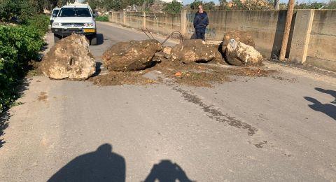 اللد: البلدية تغلق مداخل حي عربي!