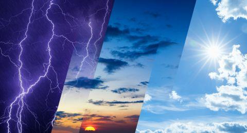 الطقس: أجواء غائمة وباردة وأمطار متفرقة
