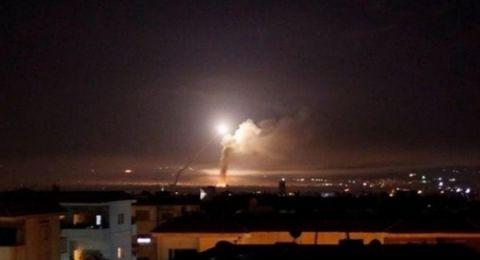 الدفاعات السورية تتصدى لقصف استهدف مطار