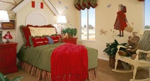 غرف نوم للأطفال من وحي افلام الكرتون