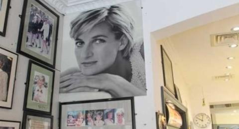 مقهى الأميرة ديانا في إنجلترا مزين بصورها