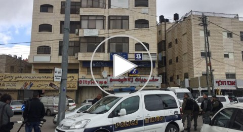 الشرطة الاسرائيلية تغلق مكتب قسم الخرائط في القدس