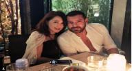بالفيديو - رومنسية عمرو يوسف مع زوجته على الهواء