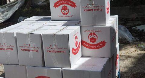 جمعية سنبدأ تواصل مشوار العطاء وتقوم بتوزيع 600 رزمة غذائية